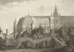 Lincoln Cathedral, chapterhouse f.120
